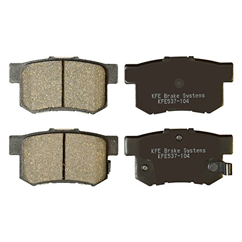KFE Ultra Quiet Advanced KFE537-104 Premium Ceramic Rear Brake Pad Set