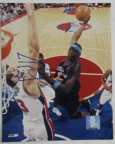 Autographed Darius Miles Photograph - Autograph 8x10 I - Autographed NBA Photos