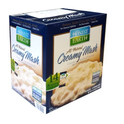 HONEST EARTH creamy mashed potatoes dry mashed potatoes 181gX14 bags by Honest Earth