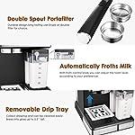 Aicook-Macchina-per-Caffe-Macchina-per-Caffe-Automatica-e-Macchina-Caffe-Espresso-Professionale-con-Schermo-Digitale-e-Cappuccinatore-15-bar-Multifunzione-per-Cappuccino-e-Latte