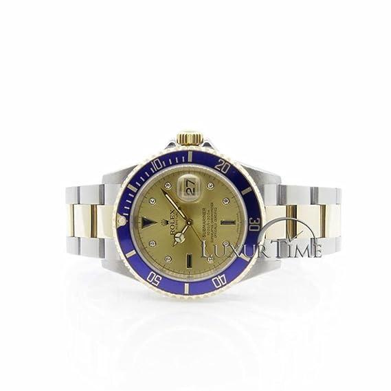 Rolex Submariner 16613 - Reloj automático, autoviento, para hombre (certificado de autenticidad)