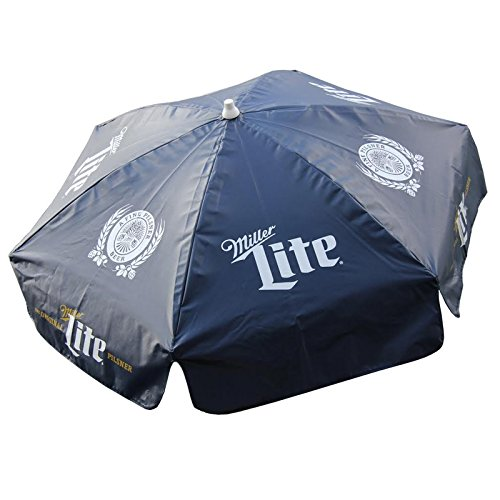 DestinationGear Miller Lite Patio Umbrella 6ft Diameter Heavy Duty Vinyl