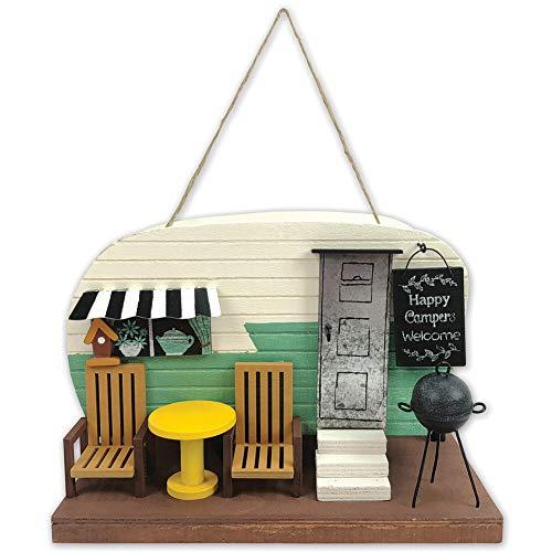 Vista Squirrel - Sunset Vista Designs Camper Birdhouse - Delightful 9.5