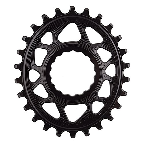 Race Cassette Rear - ABSOLUTE BLACK Race Face Oval Cinch Direct Mount Traction Chainring Black, 26t