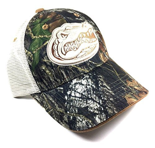 National Cap Ncaa Audible Mossy Oak Mesh Trucker Snapback  University Of Florida   Gators