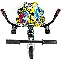 SmartGyro Go-Kart Pro Street - Sillin adaptable, convierte tu patín eléctrico en un Kart, multicolor