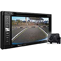 Pioneer AVIC-6201NEX In-Dash Navigation AV Receiver with 6.2 WVGA Touchscreen Display Included BC-ND8 Back Up Camera