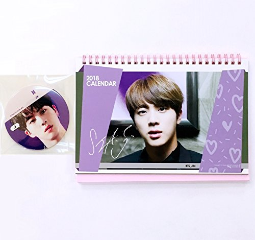 School Calendar Uae 2018 : Bts  photo desk calendar with sticker