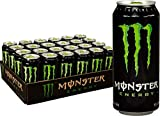 Monster Energy Drink, Green, Original, 16 Ounce 2 Cases of 24 Cans