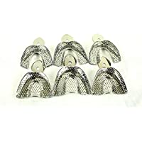 Dental Ortho Impression Trays Autoclavable 6 pcs/Set Denture