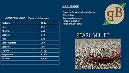 B&B Organics Pearl Millet Flour 5 kg by B&B Organics (Image #1)