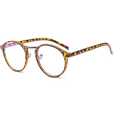 Forepin Lunettes rondes vintage rétro reg  Monture lunettes de vue  transparent pour femme et homme daaaaccc2f9