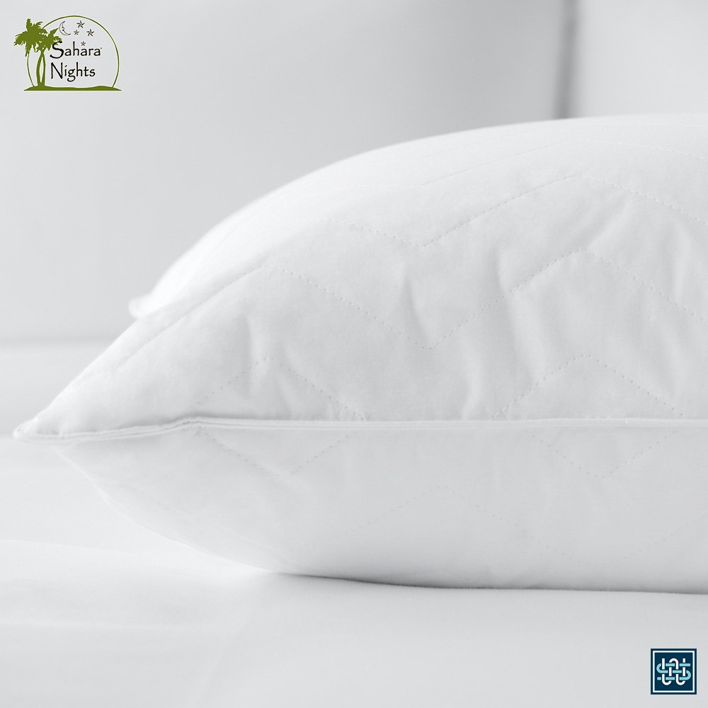 terry waterproof kingsize cotton protectors pillow king pillows toweling x products size terrypillowprosnew pair
