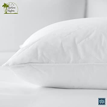 Admirable Sahara Nights Pillow Best Pillow For Back And Stomach Sleepers Hotel Resort Quality Pillows Gel Fiber Fill Cotton Hypoallergenic Pillow Gmtry Best Dining Table And Chair Ideas Images Gmtryco