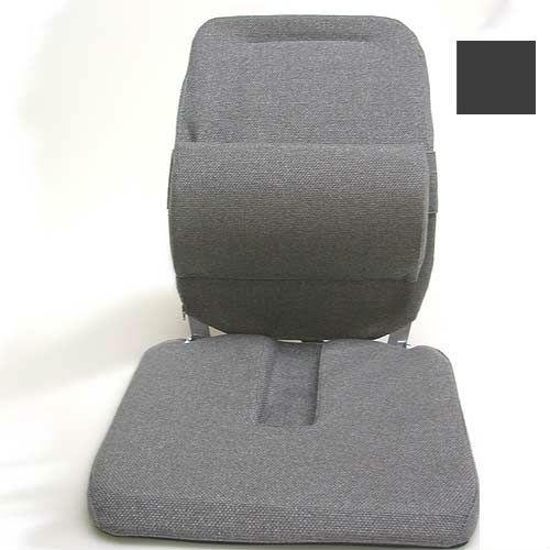 McCarty's Sacro Ease - BRC-RX-CHAR - Deluxe Model Coccyx Cutour Car Seat Cushion - Charcoal - Width - 19 in.