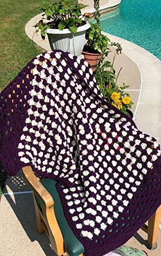 Handmade Granny Baby Blanket Afghan