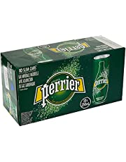 PERRIER Sparkling Natural Mineral Water, 10 x 250 ml