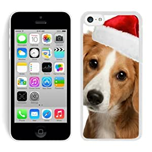 Recommend Design Iphone 5C TPU Case Christmas Dog White iPhone 5C Case 10
