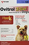 Vet-Kem Ovitrol 3-Pack X-Tend Pest Control Spot on for Dog Toy, 6 to 12-Pound