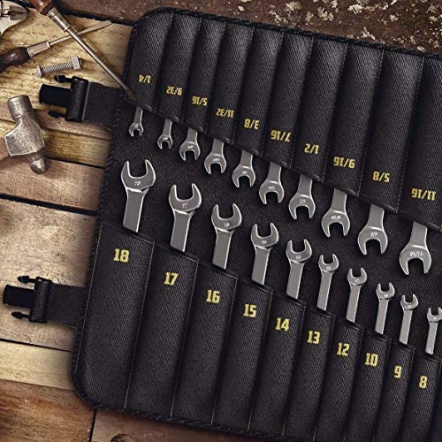 [26 Pieces] Ratcheting Wrench Set | Unbreakable INCH + MM
