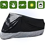 RockyMRanger Breathable Motorcycle Cover Cruisers Touring Bikes Storage YM3BS-1
