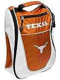 Team Golf Texas Longhorns Orange White Zippered Carry-On Golf Shoes Travel Bag