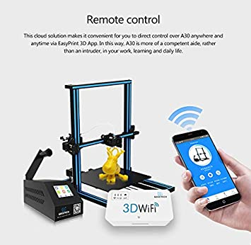 Geeetech A30 Diy 3d Printer Full Color Touch Screen Wifi