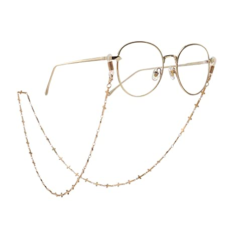 Cadena para gafas de sol Antideslizante Golden Cross Gafas ...