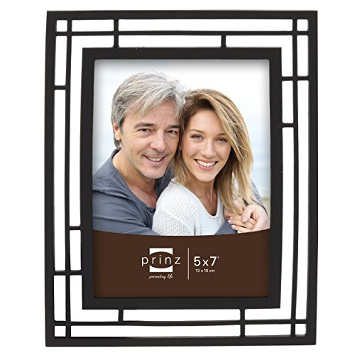 PRINZ Elston Matte Metal Frame, 5 by 7-Inch, Black ()