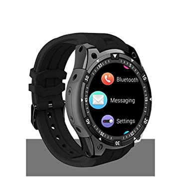 FFHJHJ Reloj Inteligente Smart Watch 3G WiFi GPS Smart Watch Men ...