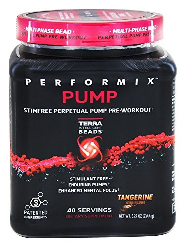 Performix - Pump Stim-Free Perpetual Pump Pre-Workout 40 Servings Tangerine - 8.27 oz.