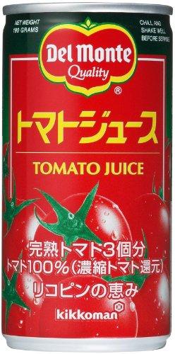 Del Monte tomato juice 190gX30 this by Del Monte