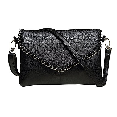 2018 Imentha Womens Small Leather Crossbody Bag, Zipper Clutch Phone Wallet Purse with [2 layers] for Women by imentha