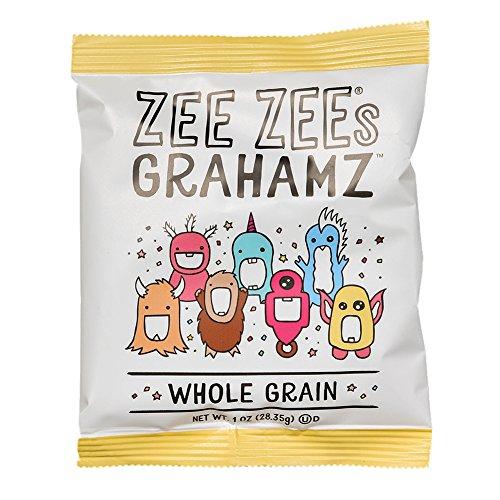 (Zee Zees Original Grahamz, Nut Free, Whole Grain, 1 oz, 24 pack)