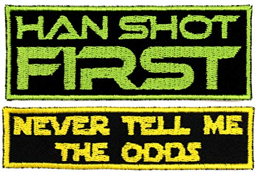 Han Shot First Patch Iron-On 4