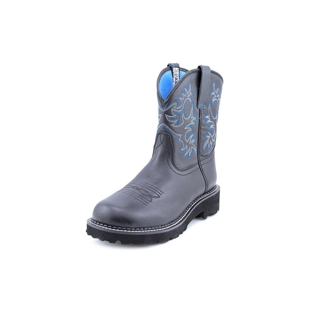 Ariat Women's Fatbaby Heritage Western Cowboy Boot B0002CZKK6 7 B(M) US|Black Deertan
