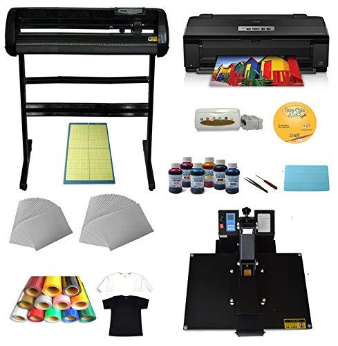 34 Quot Cutter Plotter Heat Transfer Press A3 Printer Ink Paper