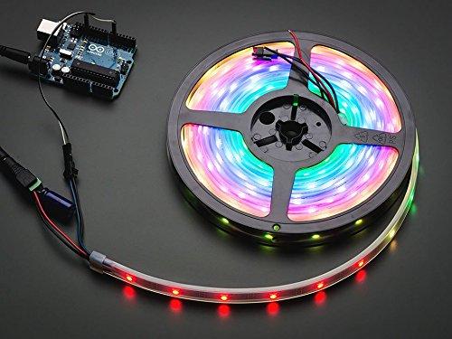 Adafruit NeoPixel Digital RGB LED Strip - Black 30 LED - 1m - BLACK [ADA1460]