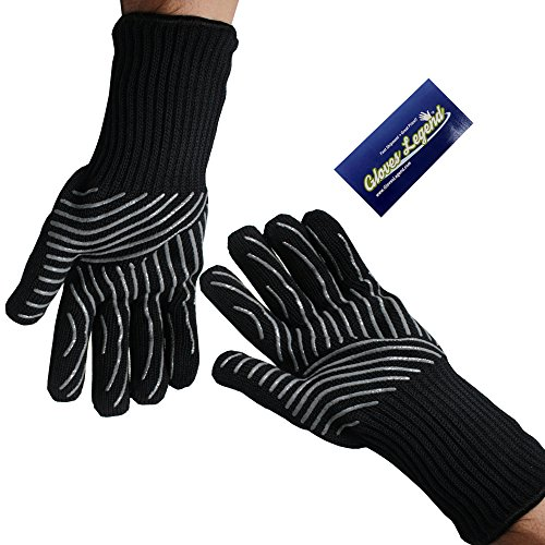 oven gloves long cuff - 4