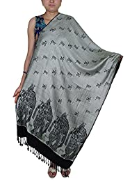 Indian Hindu Deities Scarf Beautiful God Print God Print Shawl for Women