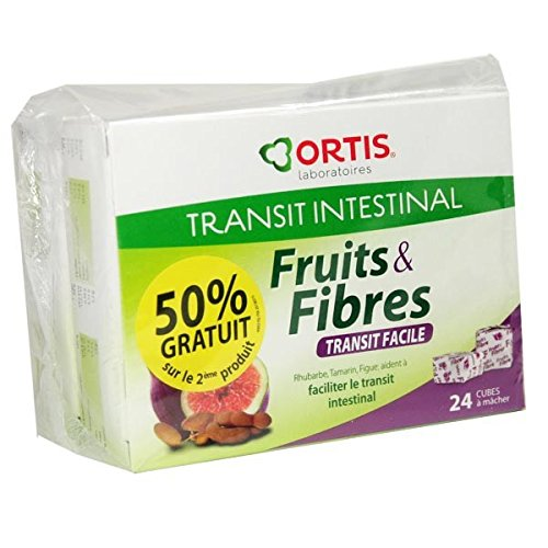 Ortis Fruits & Fibres ORTIS Transit Easy Pack of 24?�Cubes