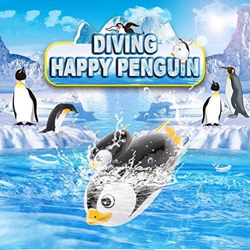 supbel スイミング電気玩具 ペンギン かわいい お風呂用おもちゃ 水遊び ラブリーミニ かわいい 電気 水槽 バスタブ 洗濯ツール 子供 泳ぐ 知育玩具 プールおもちゃ 模擬 海 子供 シャワーのおもちゃ キッズ ギフト