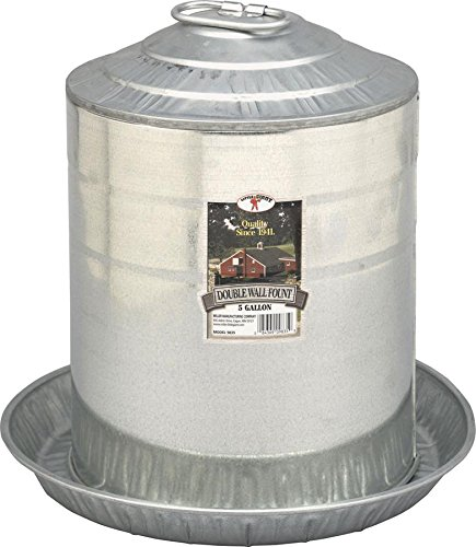 steel chicken waterer - 1