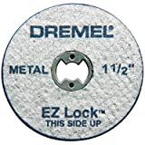Dremel EZ456 1-1/2'' EZ Lock Cutoff Wheels 5 Count