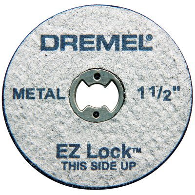 "Dremel EZ456 1-1/2"" EZ Lock Cutoff Wheels 5 Count"