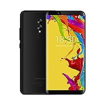 Smartphone in Offerta - UMIDIGI S2 Lite, Display da 6.0 pollici in 18: 9, Telefono Cellulare Dual SIM con Android 7.0 - Face ID, 5100mAh, Telefonia Mobile 4G – Corpo in metallo, Octa Core 1.5 GHz 4 GB + 32 GB – Doppia fotocamera 16.0MP + 5.0MP, USB Type-C - Nero