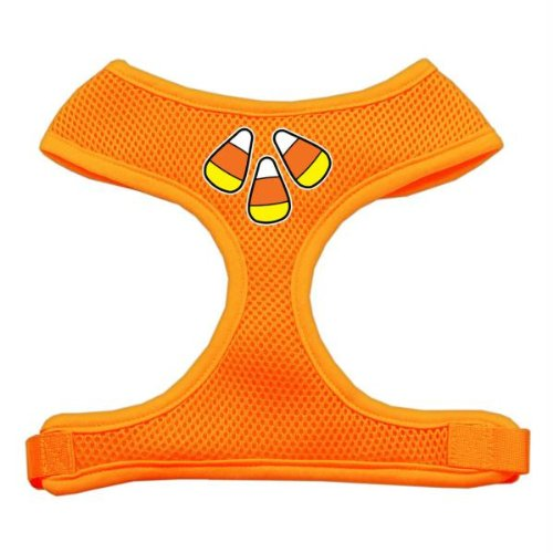 Mirage Pet Products Candy Corn Design Soft Mesh Dog Harnesses, Medium, Orange from Mirage Pet Products