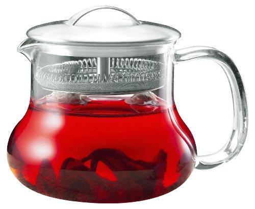 "Yama Glass ""Sitka"" Teapot (24oz)"
