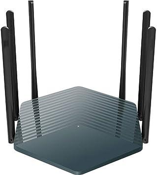 PXYUAN Router Gigabit de Doble Banda inalámbrica de 2100 Mbps ...