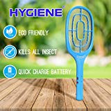 Hygiene ONE Shot Mosquito Killer Racket Rechargeable Bat Mosquito Racket for Home